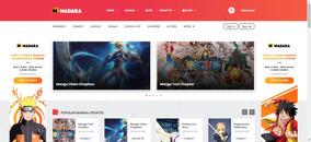 Tema Wordpress Para Manga