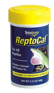 Alimento Para Reptiles Tetra Reptocal 60g Calcio Acuario