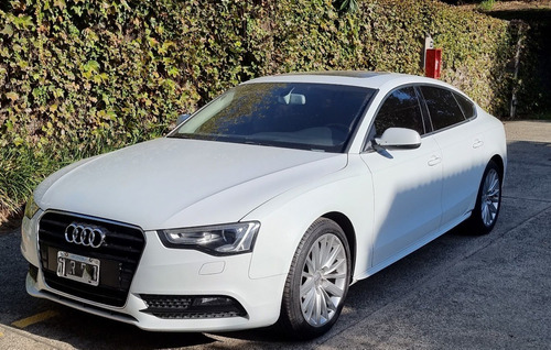 Audi A5 Sportback 2.0 T 2013 Blanco Tiptronic - Impecable!!