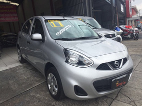 Nissan March 1.0s 2017 Completo Kingcar Multimarcas