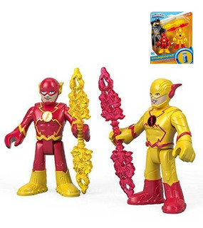 Flash + Flash Reverso + 2 Armas! Fisher-price Imaginext