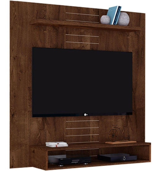 Painel Para Tv Até 47 Dj Móveis Smart 14075 Mdp E Mdf