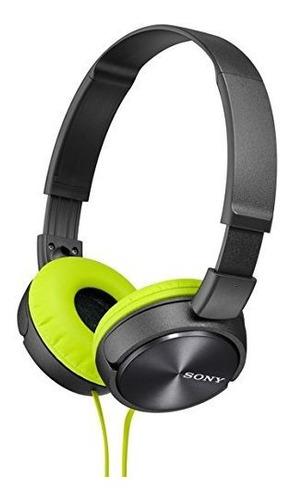 Sony Auriculares Dinamicos De Tipo Cerrado Mdr-zx310-h Verde