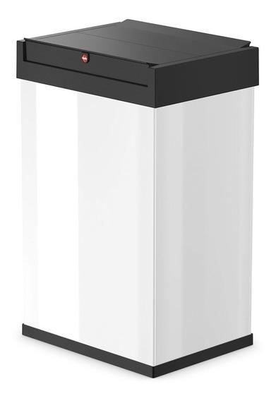 Cubo Cesto Residuos Hailo Bigbox Swing 35 L Blanco O Plata