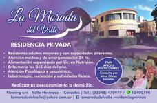 Residencia Geriatrica La Morada Del Valle Cober. 100%pami