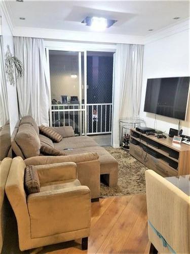 Imagem 1 de 16 de Apartamento À Venda, 62 M² Por R$ 415.000,00 - Tatuapé - São Paulo/sp - Ap5170