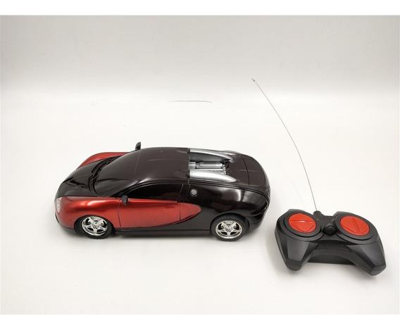 Carrinho Controle Remoto Luz Farol Inmetro Anatel Bugatti