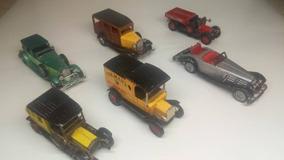 Colección De 6 Carros Antíguos 10 Cmt Matchbox