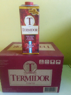 Vino Termidor Tinto Pack X 12
