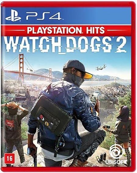 Watch Dogs 2 Ps4 Hits - Mídia Física Lacrado