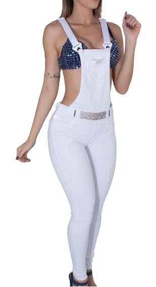 Macacão, Jardineira Pit Bull Pitbull Jeans Modela Bumbum!