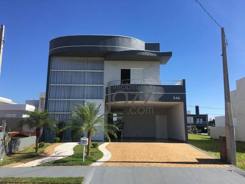Casa Com 3 Dormitórios À Venda, 237 M² Por R$ 850.000,00 - Residencial Real Park Sumaré - Sumaré/sp - Ca3942
