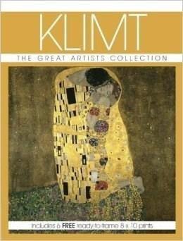 Gustav Klimt - Com 6 Postcards Fotos P Emoldurar - Importado