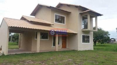 Casa Em Condomínio-à Venda-são José Do Imbassaí-maricá - Macn30067