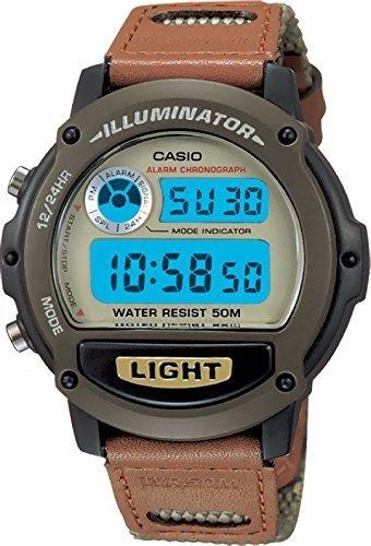 Casio W-89hb-5avh Illuminator Reloj Para Hombre