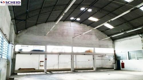 Imagem 1 de 15 de Excelente Galpão Com 830 M² Com 3 Banheiros, 10 Vagas. - Mc6417