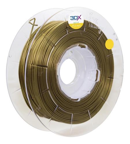 Filamento Pla Ht Dourado 1kg 1,75mm 3dx
