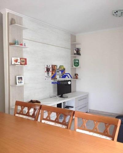 Apartamento No Condomínio Victoria I Em Alphaville Com 01 Dormitório E Sala Ampliada - 1660 - 67874495