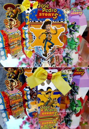 Kit Personalizado 50 Itens - Toy Story Ii