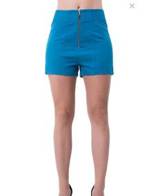 Short Hot Pants Azul Lança Perfume