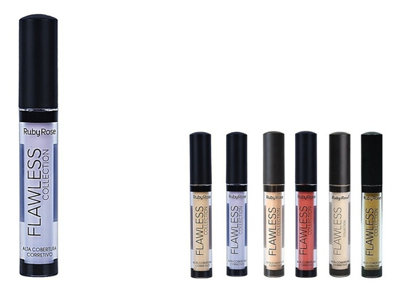 Corretivo Liquido Flawless Collection Ruby Rose Hb-8080 4ml