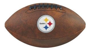 Bola Futebol Americano Pittsburgh Steelers Throwback