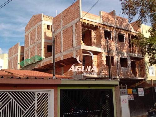 Cobertura Com 2 Dormitórios À Venda, 48 M² Por R$ 400.000,00 - Vila Alto De Santo André - Santo André/sp - Co0856