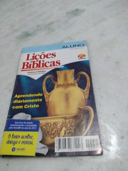 Lições Bíblicas Jovens E Adultos 3o Trimestre 2003