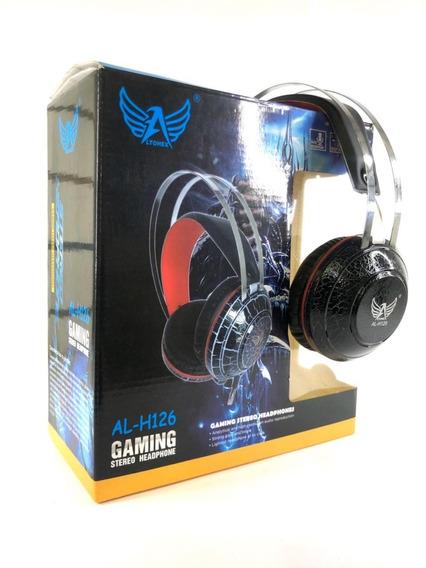 Fone De Ouvido Gamer Altomex Al H126 De Alta Qualidade