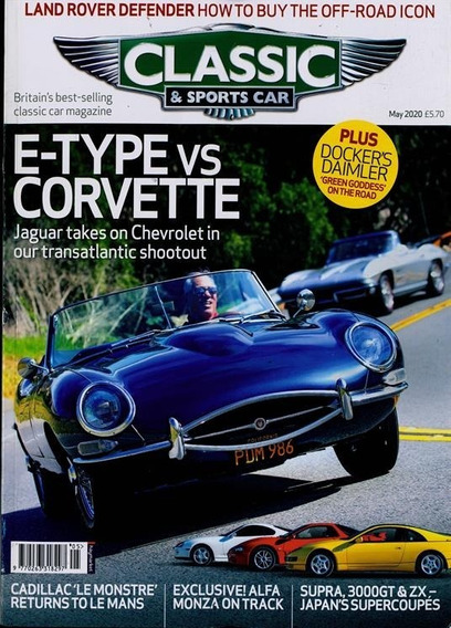 Classic Cars & Sports Car - Revista Inglesa Mensal Carros