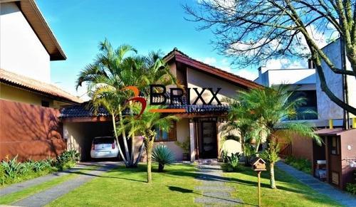 Casa Térrea Mobiliada  , Com 03 Quartos Á Venda/locação -arujá - Ca-386