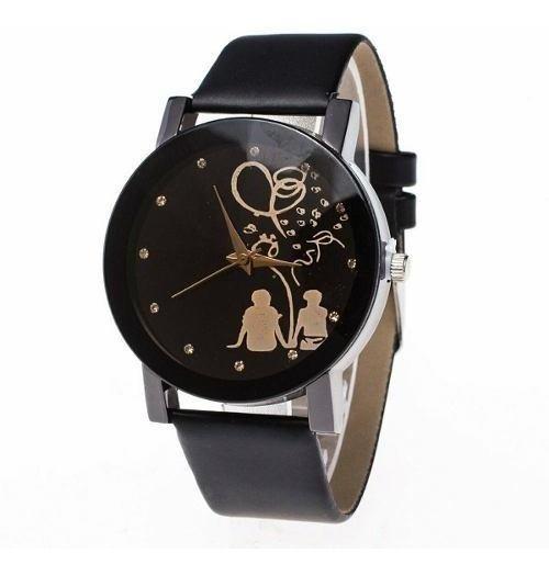 Relógio Feminino Barato Casal Estudante Diamante Elegante