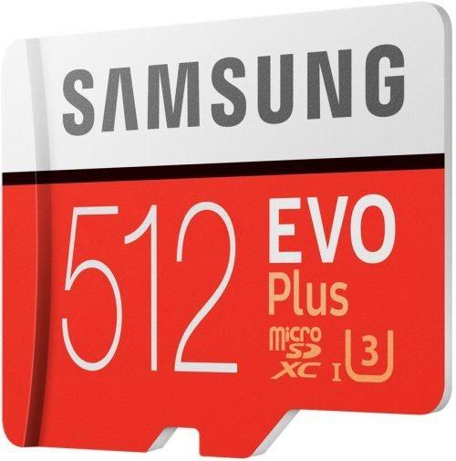 Cartão Samsung Micro Sd Evo Plus 512gb 100mb/s Sdxc 4k +adp1