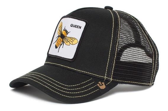 Gorra Goorin Bros Baseball Queen Bee Animal Farm Trucker