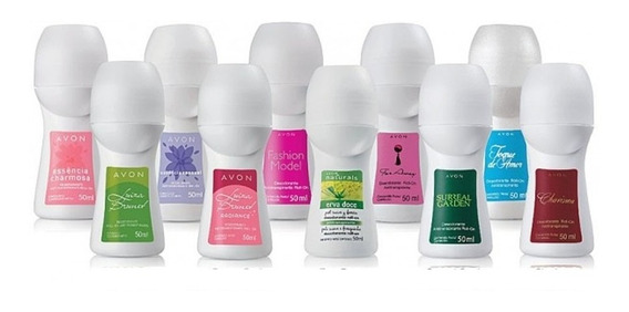 Desodorante Roll-on Feminino Avon Kit Com 10