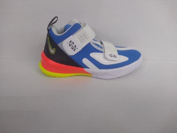 Nike Lebron James Blanco Azul