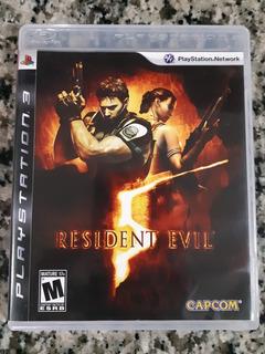 Resident Evil 5 Ps3 Original