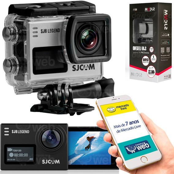 Camera Sjcam Sj6 Legend 4k Full Hd Wifi Aceita Microfone