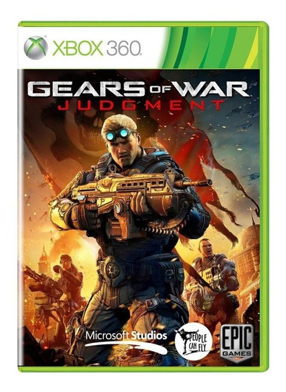 Gears Of War Judgment Xbox 360 Pronta Entrega
