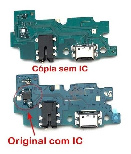 Imagem 1 de 7 de Conector Carga Placa Usb Microfone A20 A205f Flex Original