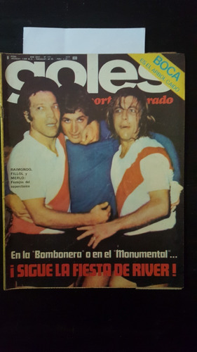 Revista Goles Nº1371  River Temperley -river Vs Boca