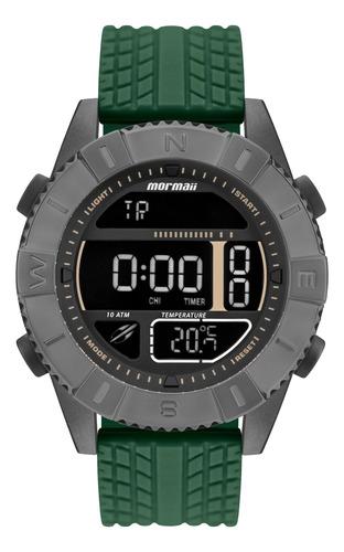 Relógio Esportivo Digital Mormaii Acqua Force Grafite