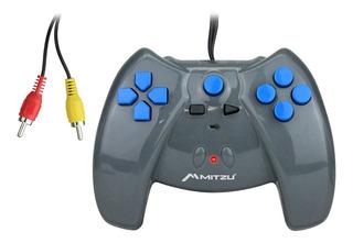 Consola De Videojuegos 2 En 1 Mitzu Control Conexión Av