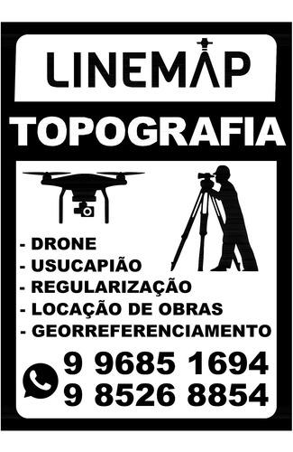 Imagem 1 de 4 de Topografia   Usucapião   Georreferenciamento   Drone