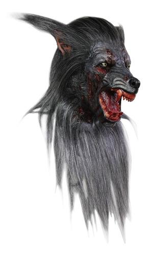 Máscara Black Wolf Hombre Lobo Máscara De Terror