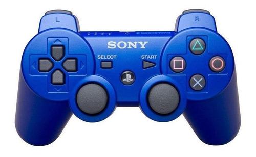 Joystick inalámbrico Sony PlayStation Dualshock 3 metallic blue