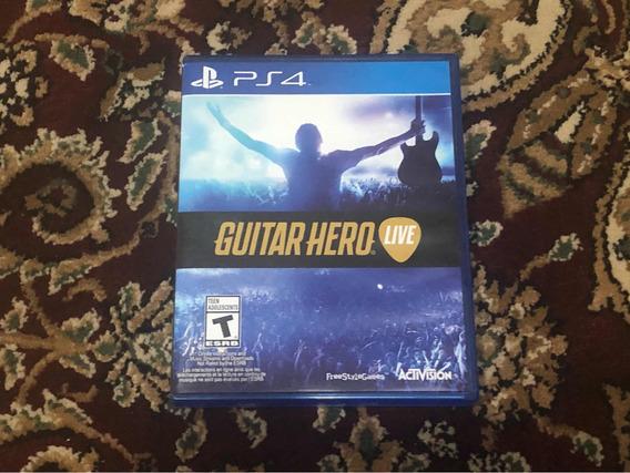 Guitar Hero Live Ps4 Mídia Física Original - Apenas Jogo!!