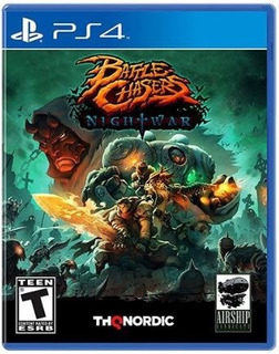 Original Fisico Playstation 4 Battle Chasers Nightwar Ps4