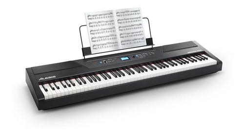 Imagen 1 de 4 de Piano Digital Alesis Recital 88 Pro