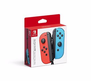Joy Con Joystick Neon Red And Blue Nintendo Switch Nuevo Original Dakmor